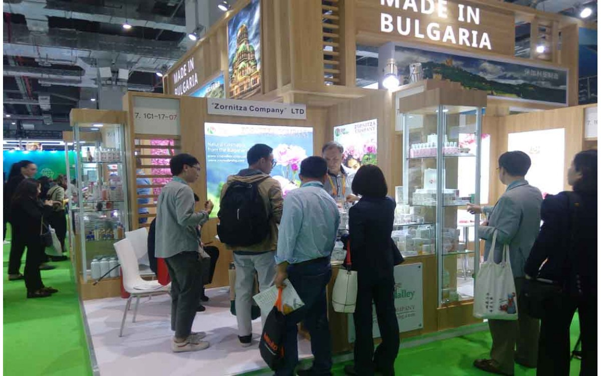 Participation of Zornitsa Company EOOD at China International Import Expo (CIIE), 5-10 November 2018