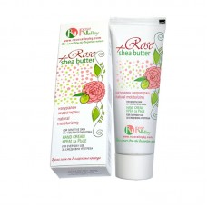 HAND CREAM ROSE + SHEA WITH ROSE WATER 65 ML.
