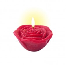 FLOATING SCENTED CANDLE ROSE 40 g