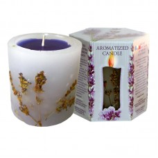 SCENTED CANDLE LAVENDER - BOX 200g.