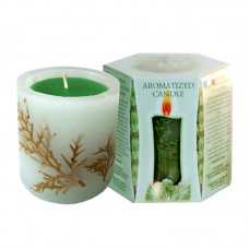 SCENTED CANDLE PINE - BOX 200g.