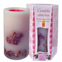 SCENTED CANDLE ROSE - BIG BOX 1kg.