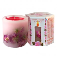 SCENTED CANDLE ROSE - BOX 200g.