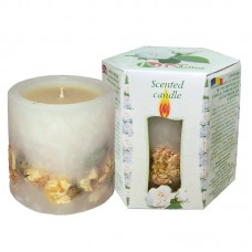SCENTED CANDLE WHITE ROSE - BOX 200g.