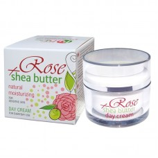 DAY CREAM ROSE + SHEA WITH ROSE WATER 50 ML.