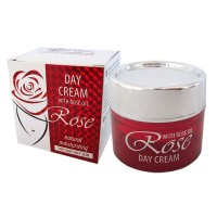 DAY CREAM WITH ROSE OIL 50 ML.