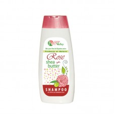 SHAMPOO ROSE + SHEA FOR DYED AND DAMAGED HAIR 250 ML.