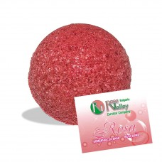 BATH BOMB ROSE WITH ROSE ESSENTIAL OIL 110 g.