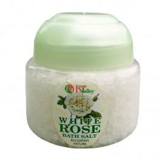 BATH SALTS  WHITE ROSE - JAR 250 G