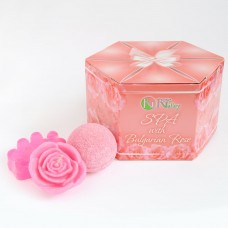 """SET """"SPA WITH BULGARIAN ROSE"""""""