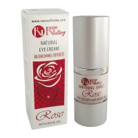 NATURAL EYE CREAM WITH BLEACHING EFFECT WITH ROSE OIL 20 ml.