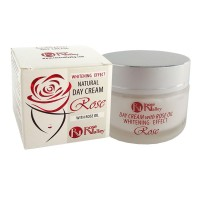 NATURAL DAY CRÈME ROSE WITH WHITENING EFFECT WITH ROSE OIL 40 ml.